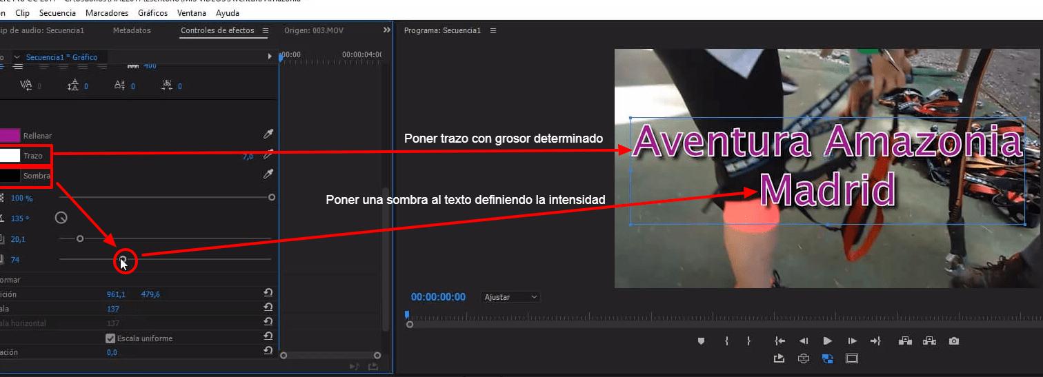 editar vídeos para YouTube con Premiere