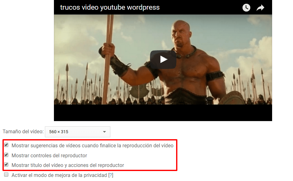 trucos video youtube wordpress YouTube