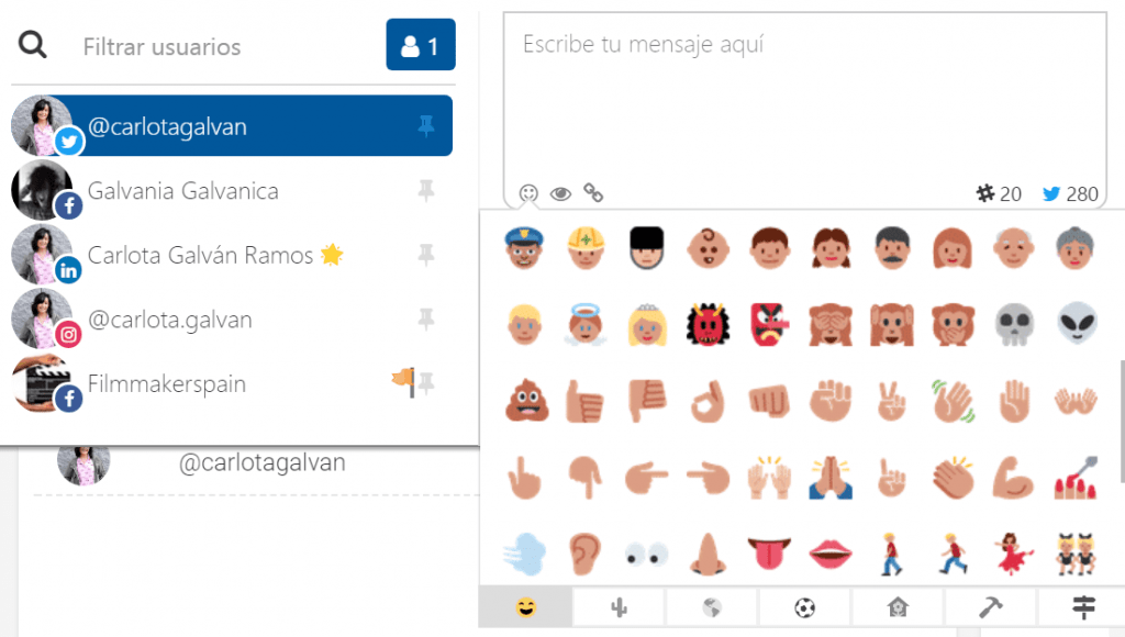 SocialGest-emojis