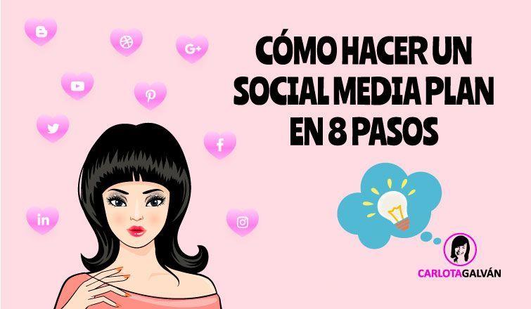 como hacer social media plan cabecera