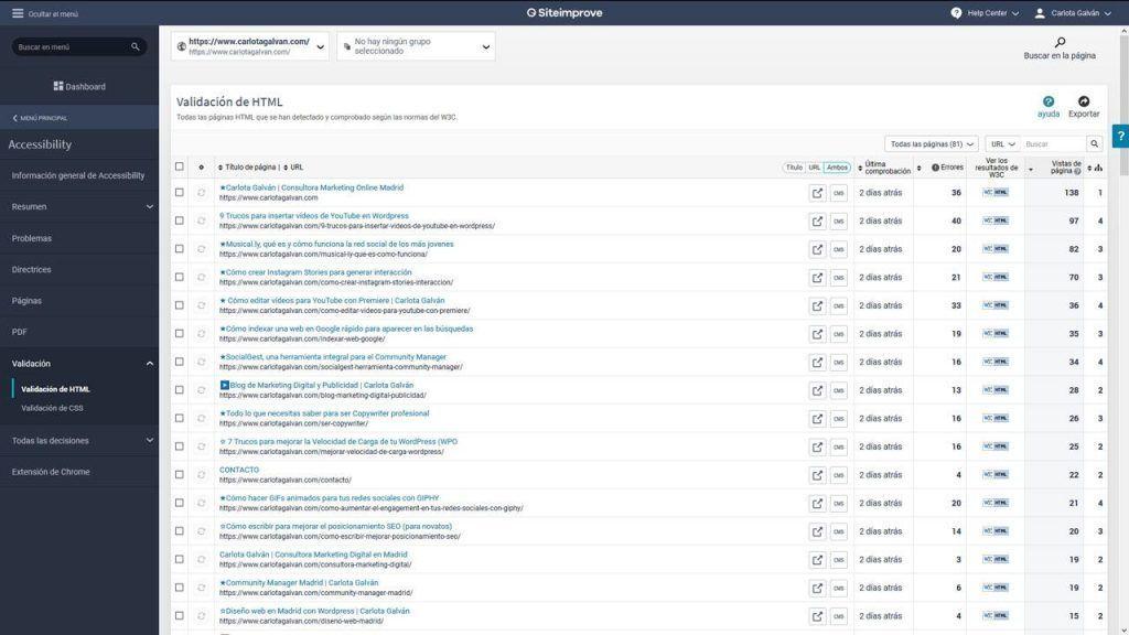 siteimprove-accessibility-validación
