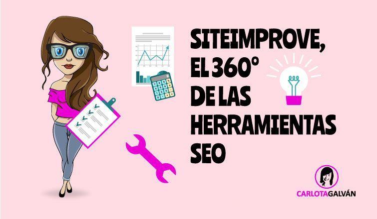 siteimprove herramientas SEO cabecera