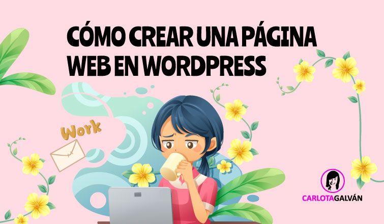 como crear pagina web cabecera