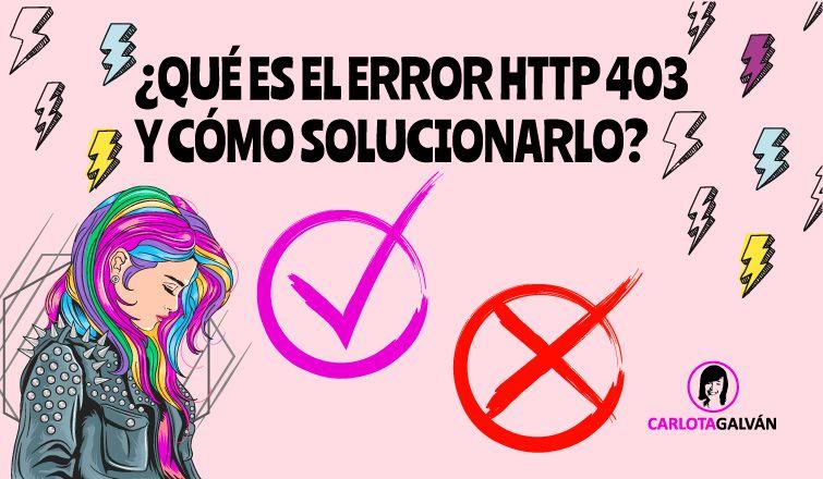que es error http 403 cabecera
