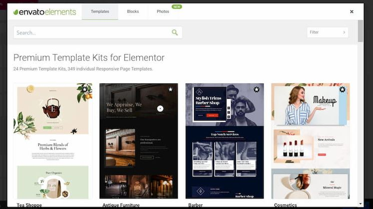 Envato-Elements-Elementor